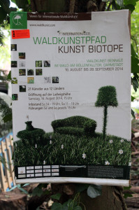 FelixLiebig Darmstadt Waldkunst